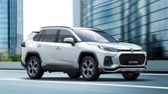 Across néven érkezik az első Suzuki jelvényes Toyota