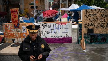 Felszámolták a seattle-i rendőrmentes zónát az újabb halálos lövöldözés után