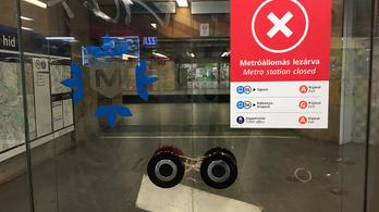 Július 13-tól lezárják a Corvin-negyed és a Semmelweis Klinikák metróállomásokat