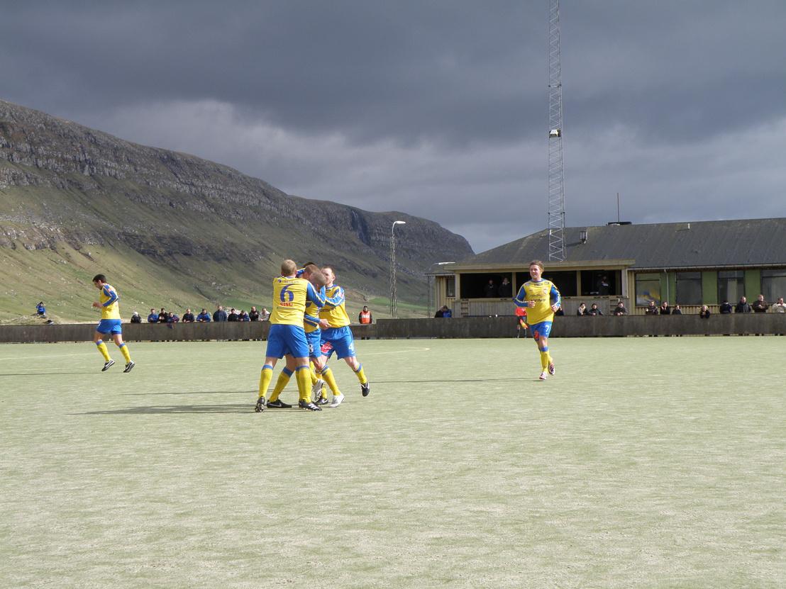 A B71 játékosai egy mérkőzésen