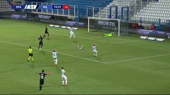 Kapitális öngóllal bukta el a győzelmet az AC Milan ellen a kiesőjelölt
