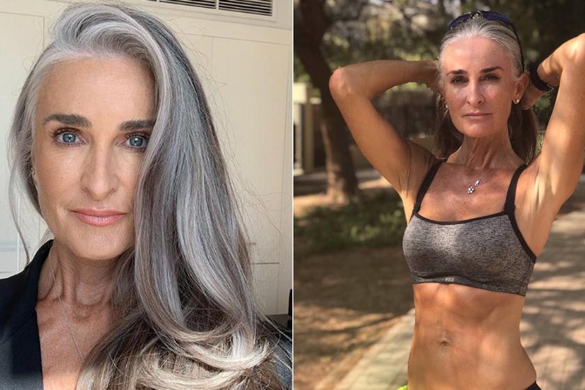 Ősz tincsei hozták meg számára a világsikert: 53 évesen kezdett modellkedni a gyönyörű édesanya