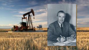Az aranykezű Papp Simon, aki mindenhol olajat talált