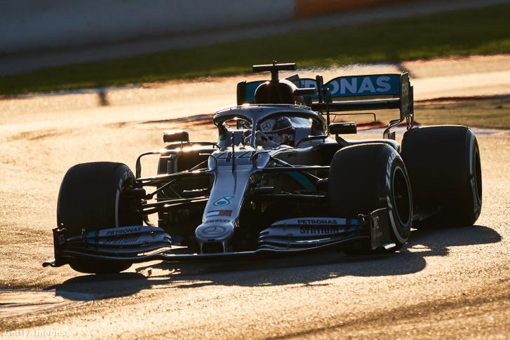 Lewis Hamilton 2020. február 19-én.