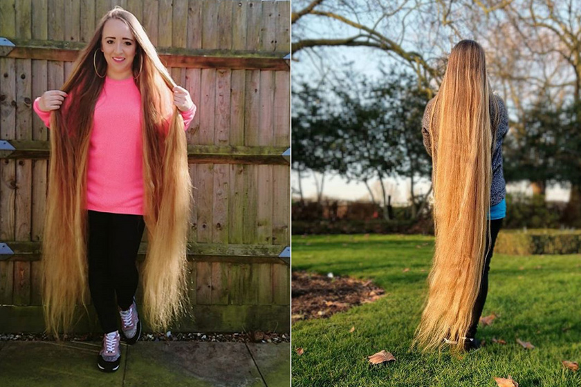 157 centis hajzuhatagával lett híres a neten a fiatal nő: tényleg létezik az igazi Aranyhaj