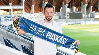 Visszatér horvát klubjához a Puskás Akadémia saját nevelésű játékosa