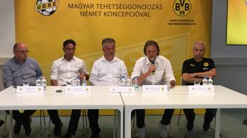 Budapesten keresi a Dortmund a jövő futballsztárját