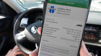 1,7 millió forint úthasználati pótdíj egy budapesti autósnak