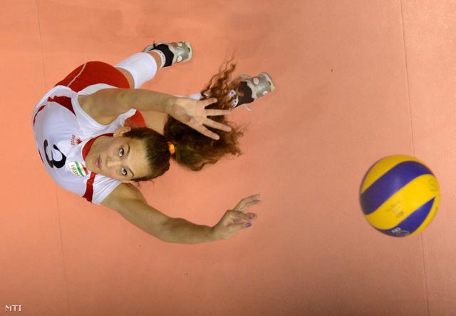 Milovits Júlia a női röplabda Eb-selejtező F csoportjában