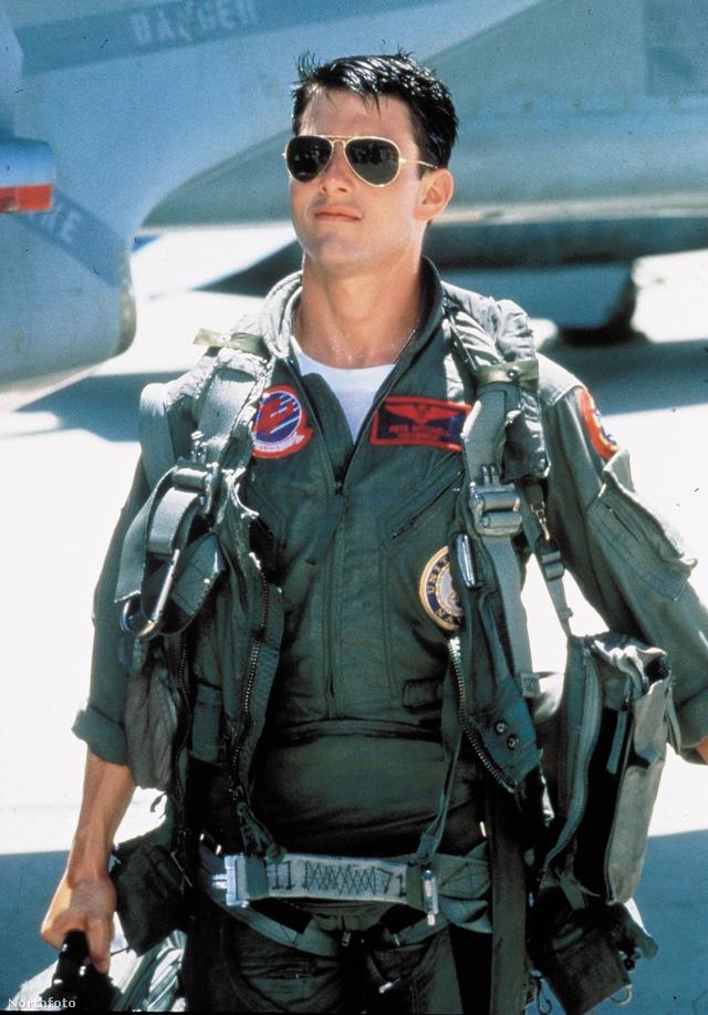 Tom Cruise egyik leghíresebb szerepében, a Top Gunban, szintén 1986-ban