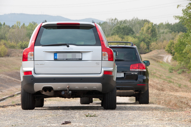 A Volvo négy centivel magasabb