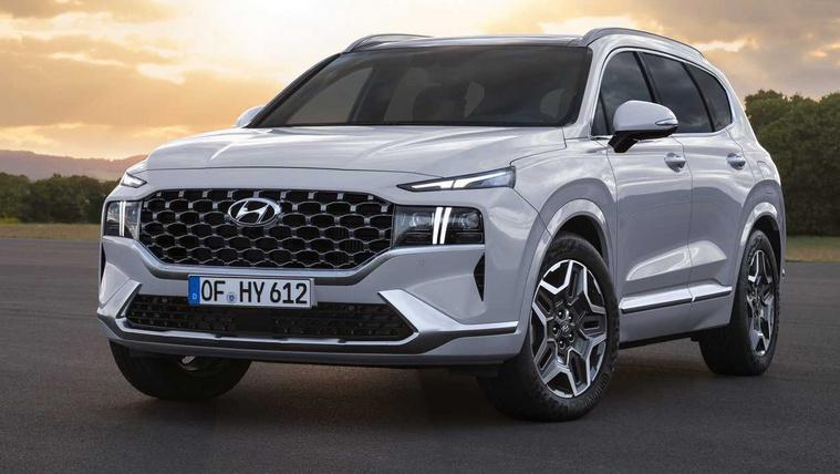 Kismotoros hibrid hajtást kap a nagy Hyundai terepjáró
