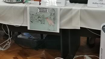 Baranyit gúnyoló rajzzal ült be Bácskai a közgyűlésbe