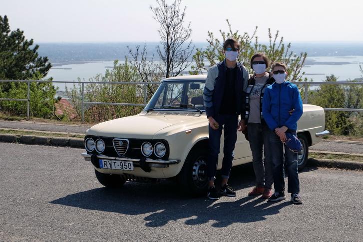 Elmentünk a Velencei-tóhoz is, szigorúan maszkban