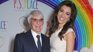 Megszületett a 89 éves Bernie Ecclestone első kisfia