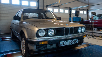 Totalcar Erőmérő: BMW 320i E30