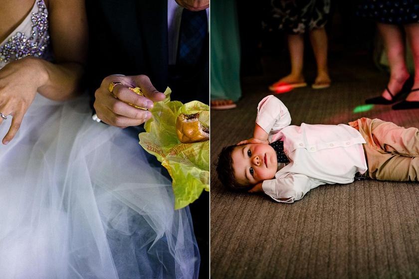 10 esküvői fotó, ami nagyon eltér a hagyományostól: ritkán látni ilyet, mégis díjazottak lettek