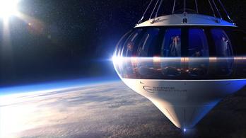 Negyvenmillió forintért lehet majd befizetni egy hatórás útra az űr szélére