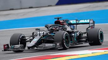 Hamilton nagyon veri a mezőnyt az osztrák edzésen, hasít a pink Mercedes