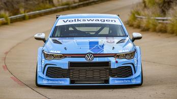 Jó kiállású versenygép lett a VW Golfból