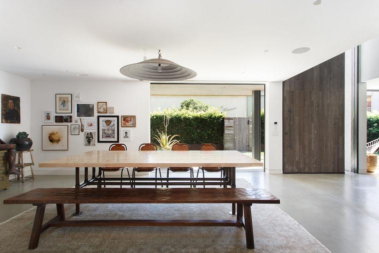 A színésznő házában ilyen és ehhez hasonló összekötő helyiségek vannak