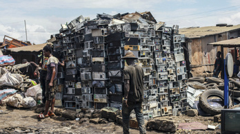 Soha nem volt ennyi elektronikai hulladék a világban
