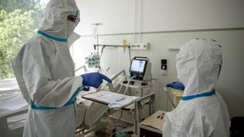 Két fővel emelkedett a beazonosított koronavírus-fertőzöttek száma