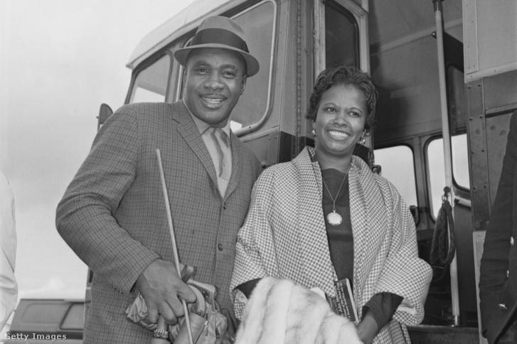 Sonny Liston és felesége, Geraldine 1963-ban.