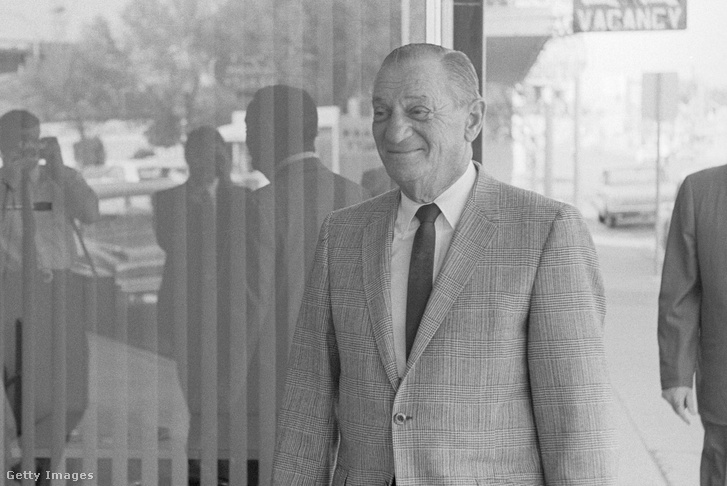 Moe Dalitz 1966-ban.