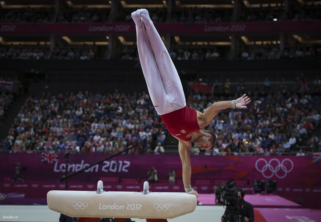 Berki Krisztián a 2012-es londoni olimpián