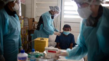 Megdőlt a napi fertőzési világrekord szombaton