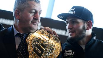 Koronavírusban meghalt a veretlen UFC-világbajnok, Habib Nurmagomedov apja