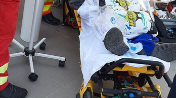 80 kiló jéggel mentették meg egy ember életét a rendőrök