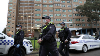 3000 embert zártak a lakásukba a járvány miatt Melbourne-ben
