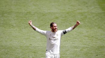 Ramos elintézte, megint tizenegyessel nyert a Real