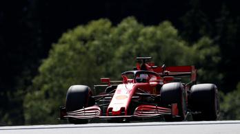 Leclerc 2. helye csalóka, a Ferrari csak árnyéka önmagának