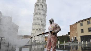 Akár 18 hónap börtönnel büntethetik a karantént megszegőket Olaszországban