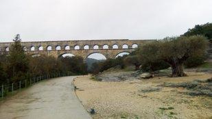 Pont du Gard - az ókori világ egyik csodája
