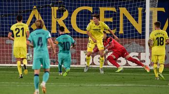Idegenben lőtt négy gólt a Barca