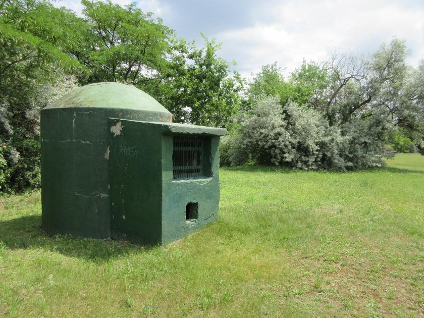 tamariska bunker légbefúvó