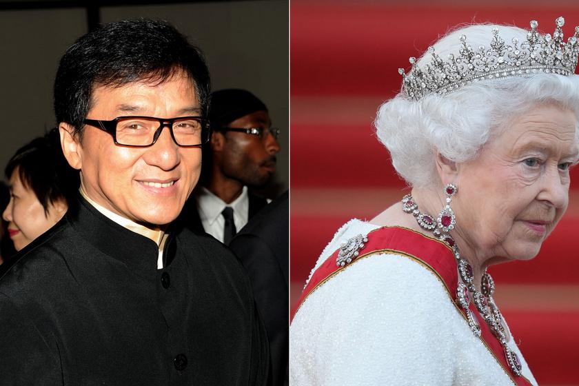 Jackie Chan csúnyán beégett a királynő előtt: ezzel sodorta magát kínos helyzetbe