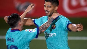 Suárez utolérte Kubala Lászlót a Barcelona örökrangsorában