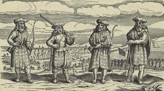 A 17. századi lengyel-svéd háborúban mindkét oldalon harcoltak skót zsoldosok