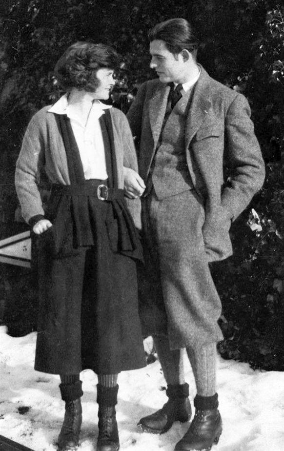 1921-ben ismét rátalált a szerelem