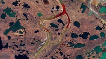 2 milliárd dolláros kárt okozott a norilszki olajszennyezés