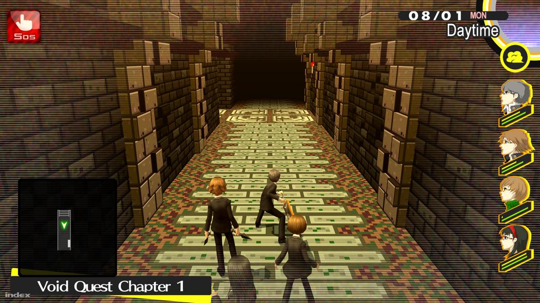 Ilyen sötétbe tartó folyosókon kell kalandoznunk, de ha egy szakaszt láttunk, az összeset láttuk.