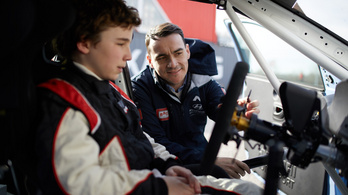 12 éves pilótát igazolt Michelisz csapata