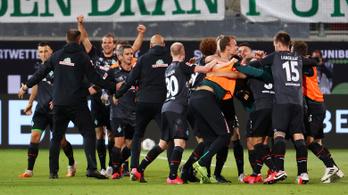 Abszurd öngól döntötte el, hogy ki indulhat jövőre a Bundesligában
