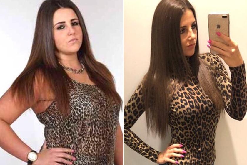 Emese volt a legducibb lány az osztályban: 34 kilót fogyott, ma már közel 7 ezren követik élhető tanácsai miatt