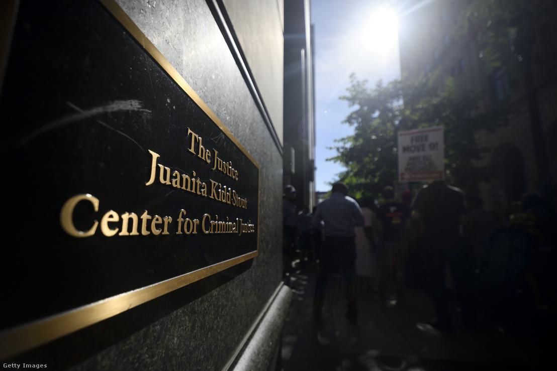 A philadelphiai Büntető Igazságügyi Központ épülete